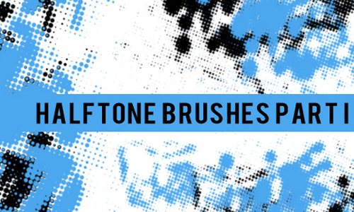 Photoshop Halftone Brushes
