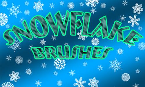 Snowflake Brushpack