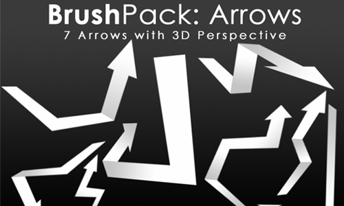 BrushPack - 3D Arrows