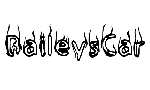 BaileysCar font