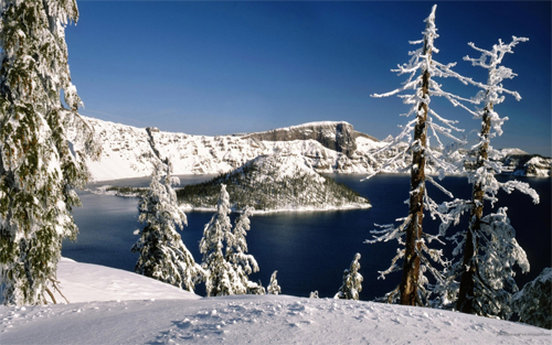 Winter Lake wallpapers