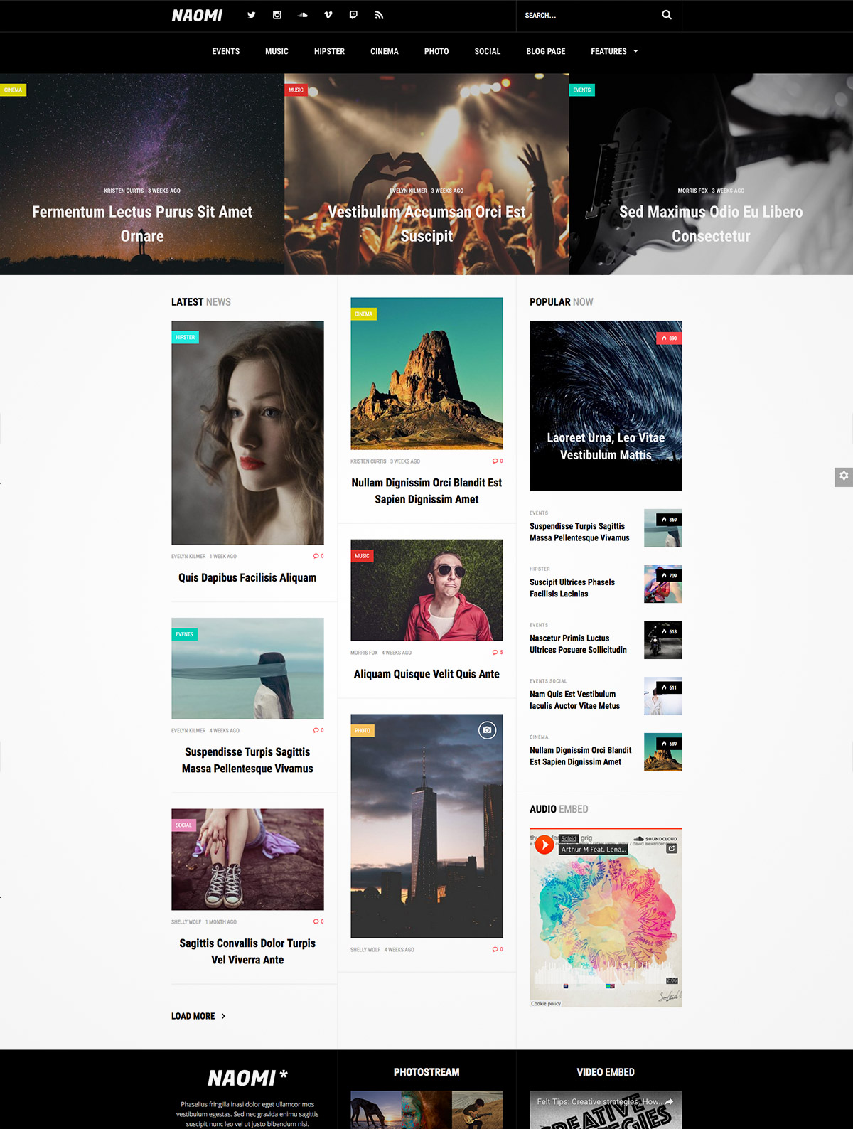 news theme wordpress