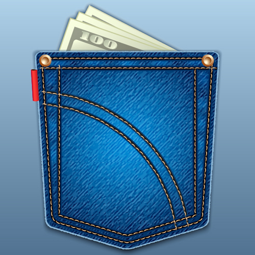 Create a Jeans Pocket Icon Using Adobe Illustrator