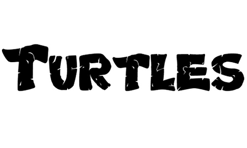 Turtles Normal font