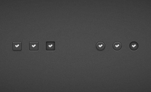 Quick Tip: How to Create a Set of Dark Check Buttons