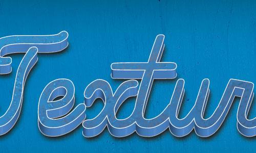 Illustrator 3D Textured Text Effect Tutorial For Beginners
