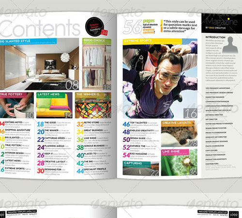 33 ready to print premium magazine templates naldz graphics magazine template maxwellsz