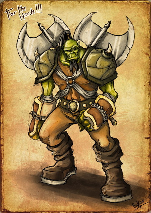 orc warrior color