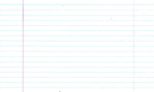 Notebook Paper Plain