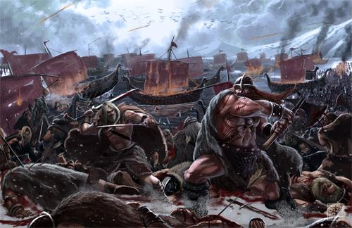 barbaric war