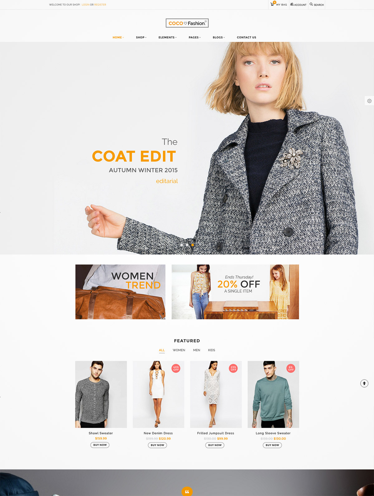 fashion premium wordpress