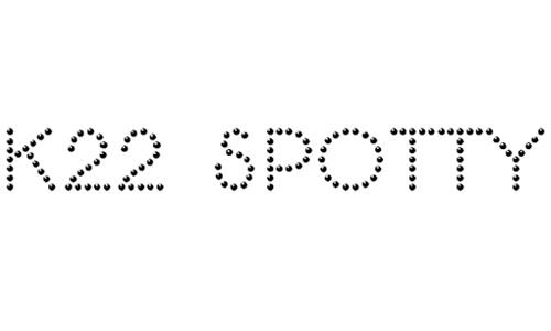 K22 Spotty Face font