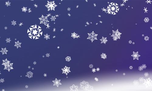 FREE BRUSHES, Snowflakes IMGPK