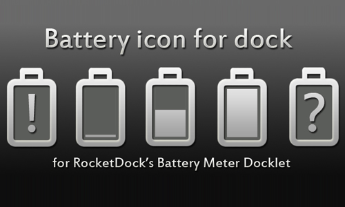 Token Battery Docklet Icon