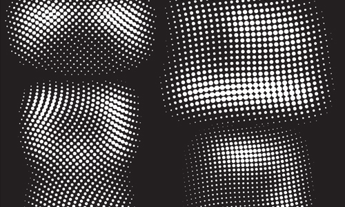HALFTONE CIRCLES BRUSH