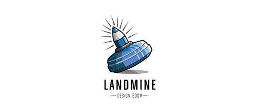 Landmine logo