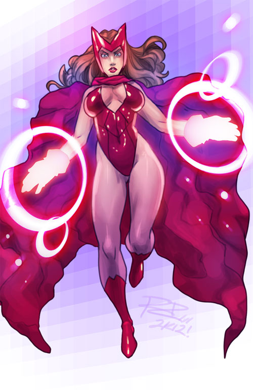 Scarlet Witch by robaato