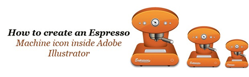 How To Create An Espresso Machine Icon Inside Adobe Illustrator