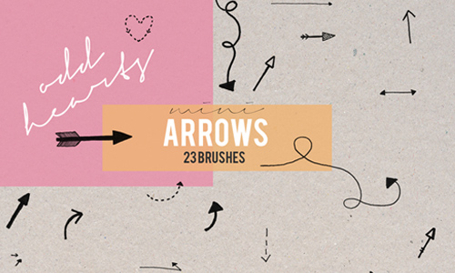 Mini Arrows - Brushes