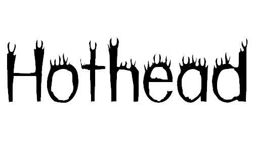 hothead font