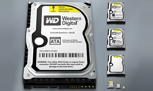 Hard Drive Replacement 1.1