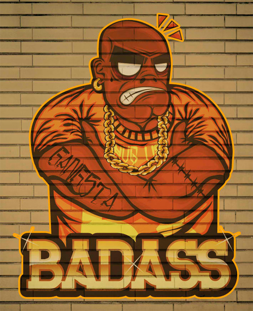 Create a Badass Hip Hop Character in Illustrator