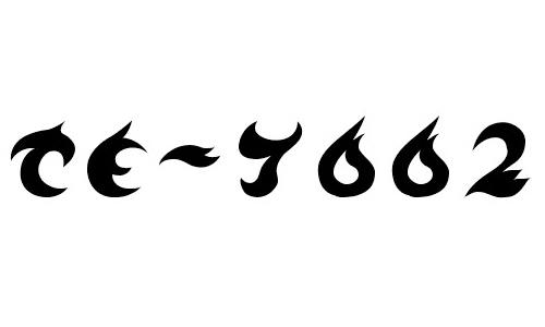 TE-7002 font