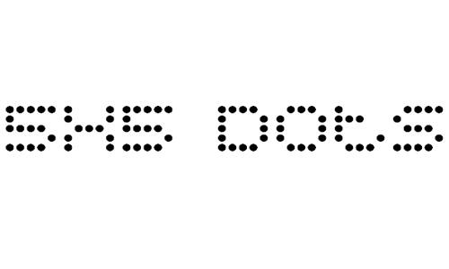 5x5 Dots font