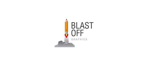 Blast Off - logo