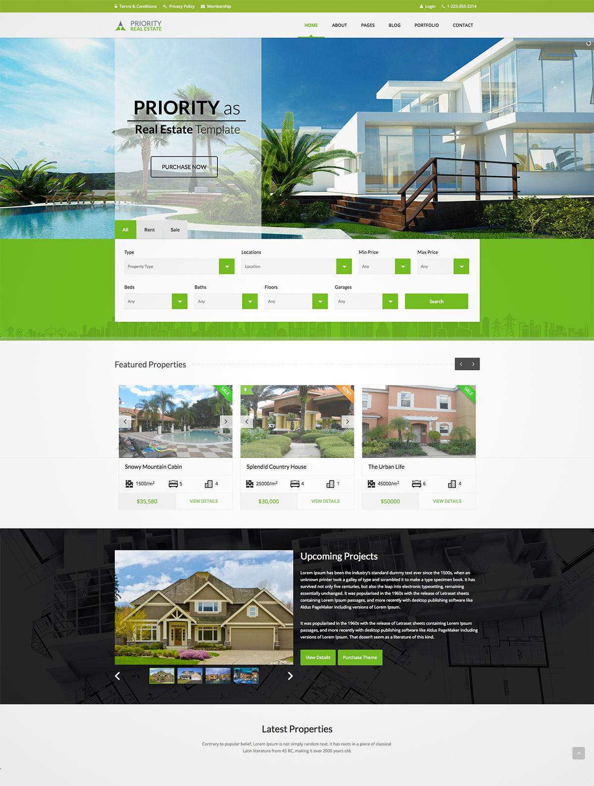 multipurpose theme website