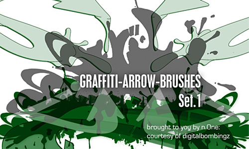 DB Graffiti Arrow-Brush Pack