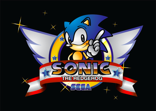 Create Sonic The Hedgehog Opening on Illustrator