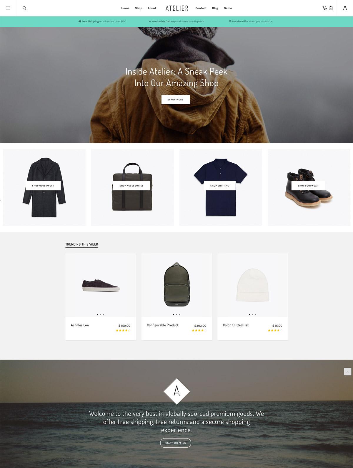 accessories shop magento