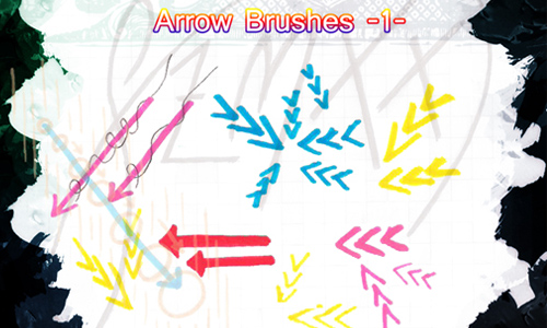 Arrow Brushes -1-
