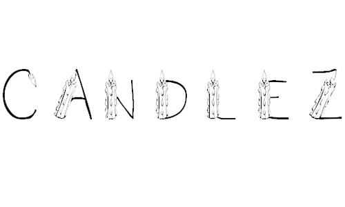 101! CandleZ font