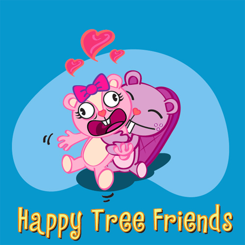 Happy Tree Friends in Illustrator