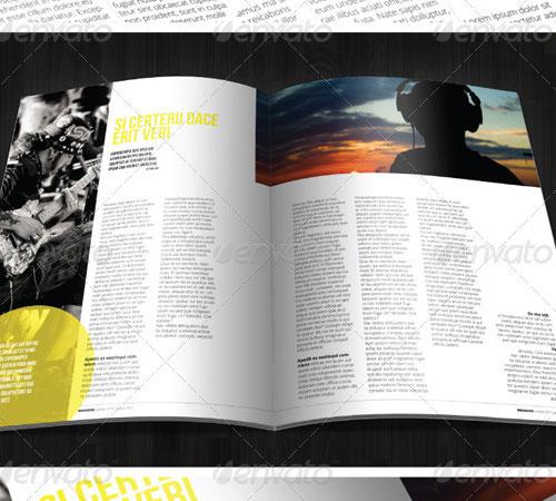 33 ready to print premium magazine templates naldz graphics
