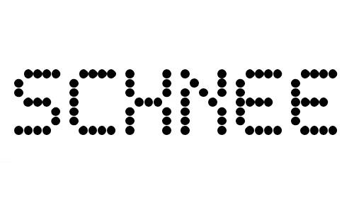 schnee font