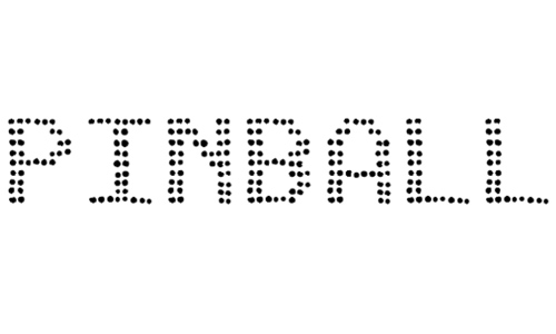 pinball data font