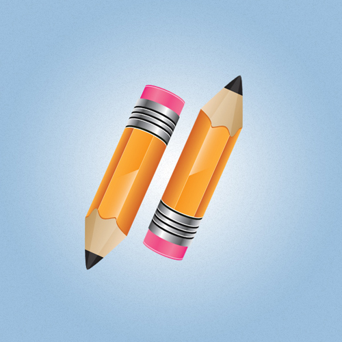 Create a Stylish Pencil Icon in Illustrator