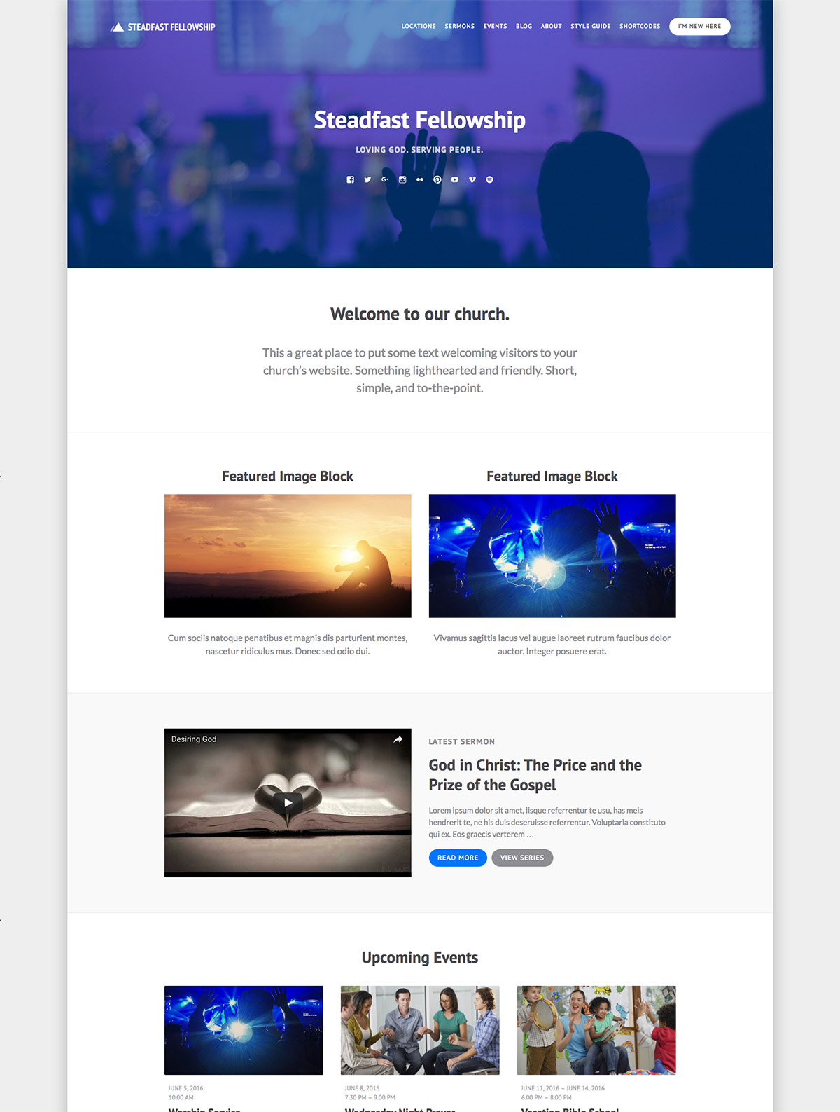 church theme wordpress