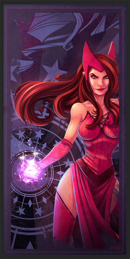 Avengers Card Scarlet Witch