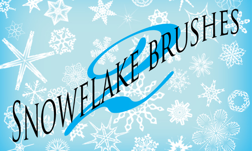 101 Snowflake Brushes