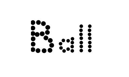 Ball font
