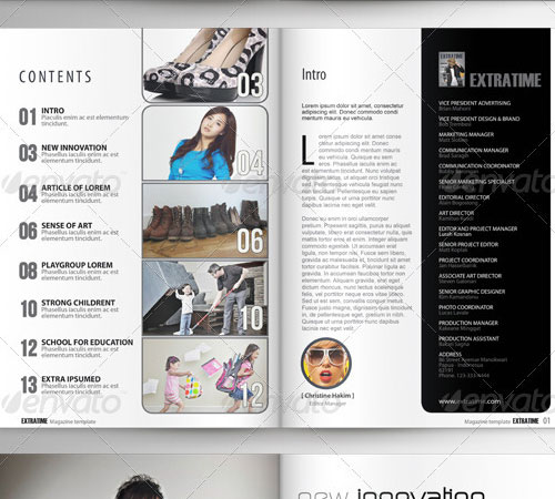 33 ready to print premium magazine templates naldz graphics for E magazine templates free download