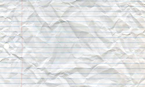 Superb Crumpled Looseleaf Paper  Loose Leaf Paper Background