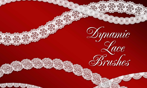 Dynamic Lace Brushes