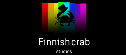 Finnish crab logo