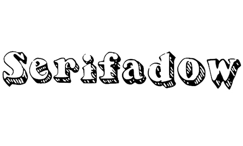 serifadow font