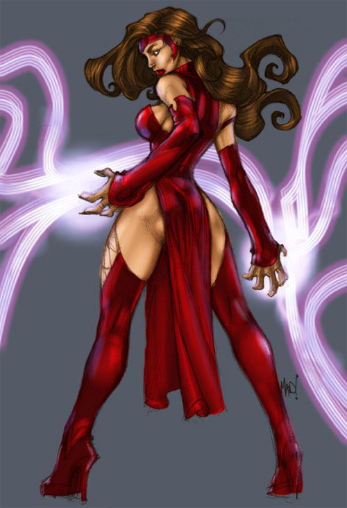 Scarlet witch by the madman